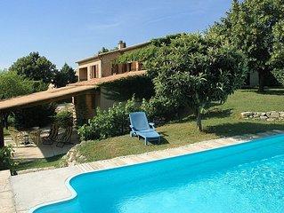 Villa de Charme  Malaucene - Ventoux avec piscine et salle de jeux **** (Wifi)