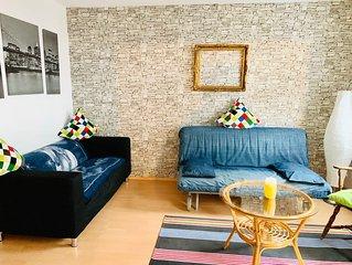 Moderne Ferienwohnung im historischen Bergmannshaus mit W-LAN