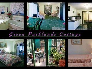 Ballarat Green Parklands - Ballarat spa cottage