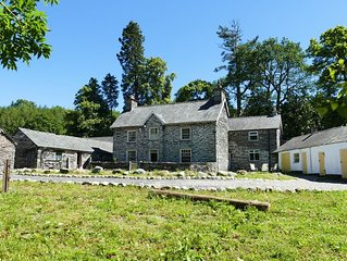 disabled friendly  ground floor room in traditional old welsh  farmhouse