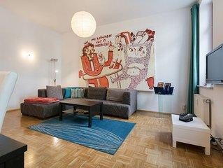 Familienfreundliche 3-Zimmer Wohnung mitten im hippen Pieschen
