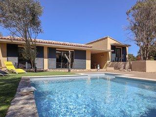 PROMO Printemps: 1050€ la semaine, Villa avec piscine proche de Bonifacio.