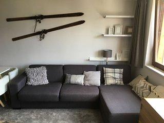 Charmant 2 pièces résidence CAPNEIGE Avoriaz, 7ème étage superbe vue
