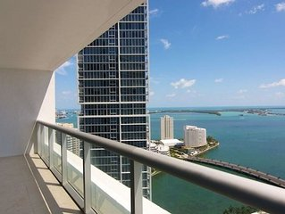 41st Floor Waterfront Luxury 1 BR Icon Brickell