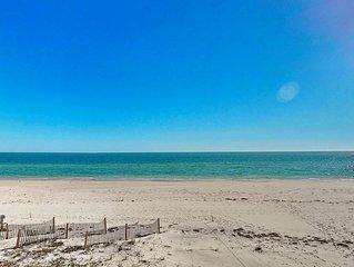 Ready After Hurricane Michael! FREE BEACH GEAR! Beachfront, East End, Wi-Fi, 2BR