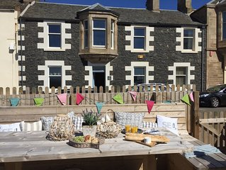 Beach House in Elie with fantastic Sea Garden