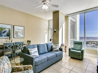 Emerald by the Sea 712-Good Day Sunshine has unobstructed views of the Gulf! 2b/
