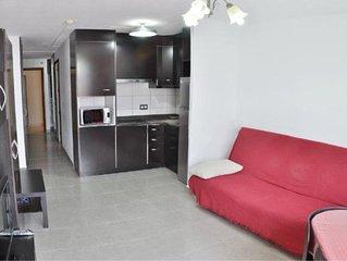 Bonito piso con genial localizacion, terraza, a 250 metros de la playa Y WiFi