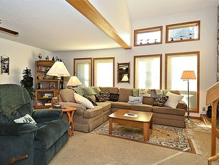 In the heart of Canaan Valley! Comfort on the Mountain!  Pets welcome too!