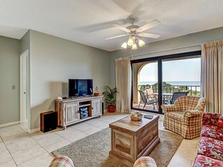 Beautiful Beachfront View with balcony in the Amelia Island Plantation!