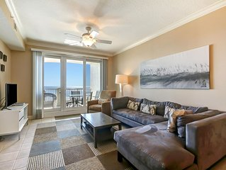Beautiful ocean front condo with unobstructed views of the Atlantic Ocean.