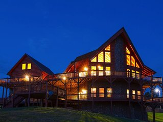Huge for Corporate Retreats & Reunions with 360° Views of the Blue Ridge