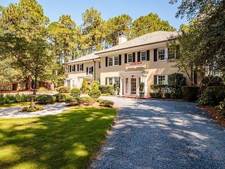 Golf Front luxury overlooking the Donald Ross designed Mid Pines Golf Club