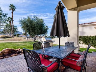 Dog-friendly contemporary home w/golf views, free WiFi, shared pool, and casita!