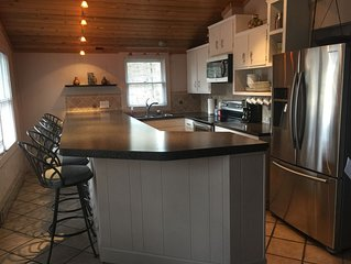 Large 6 bedroom house that is located in the middle of town