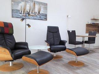 Die Wohnung Friesland 5 bietet Ihnen eine erholsame Auszeit zu zweit!