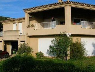Villa Confo-Vue Impre-Golfe-maquis tres calme 500m mer 30mn d'Ajaccio