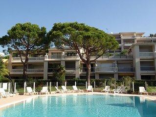 Appartement dans residence le Lido calme securise clim piscine parcking Bord Mer