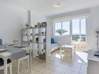 Appartamento fronte spiaggia terrazza vista mare 2 camere Wi-Fi beachfront