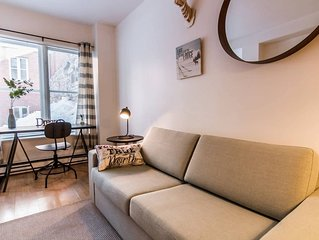 Large apartment in Old Quebec