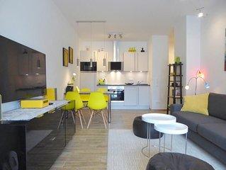 Hell und freundlich ! Gute Laune ist in diesem  Premium-Apartment garantiert ! I