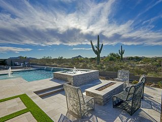 Perfect Scottsdale Resort Home with Privacy & a View!