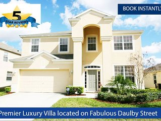 SPECIAL OFFER  : INSTANT BOOKING DISNEY FIREWORKS VIEW LAKE VILLA  DAULBY STREET