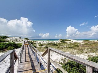 Private Boardwalk to the Beach! 2 Pools! Beautiful Views!