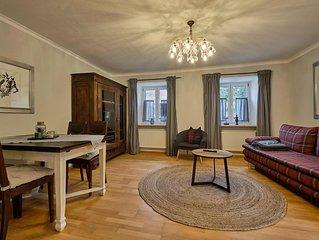 Ledererturm-Apartment (85 m2) mit gemutlicher Innenhofterrasse