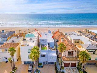 Designer Beach Front Villa in Oxnard Shores.