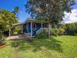 Charming home - short walk to Hanalei Bay
