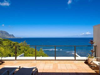 Two bedroom vacation rental boasting magnificent ocean and Bali Hai views