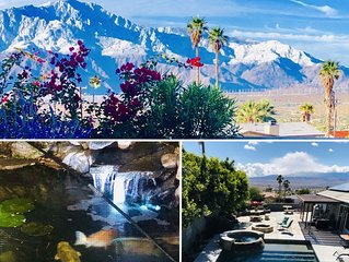 ★ Koi Springs ★ Private Salt-Water Pool and Spa