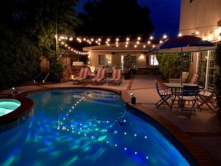 Sparkling Clean Private Poolside Guest House - Santa Clarita