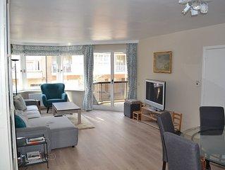 Grand et lumineux appartement 3 chambres - 500 m de la plage