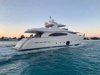 Cinque Mare Luxurious Super Yacht! 88 Ferreti