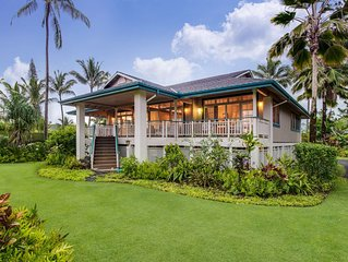 Steps Away from Fabulous Hanalei Bay Beach