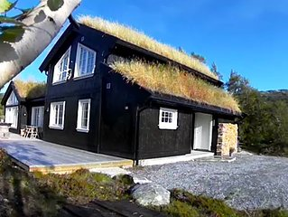New, high-quality mountain lodge on top of Norway!