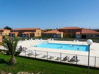 Villa classée 4* dans résidence avec piscine à 7 minutes de la plage à pied