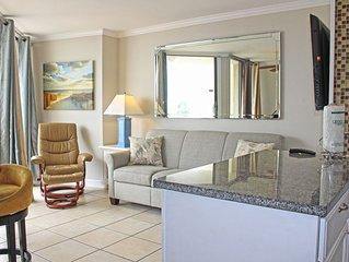 Comfortable one bedroom ocean view condo!