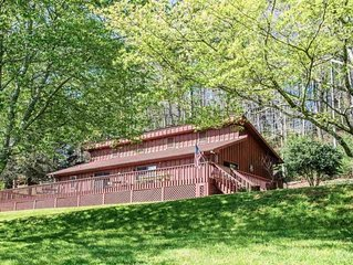 THE CABIN ON STONEWALL CREEK - Pet Friendly