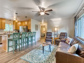 Single-level, dog-friendly home w/ private fenced-in yard & easy beach access!