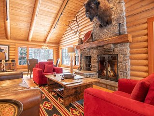 RMR: Teton View Log Cabin-5 BR, private location with views.