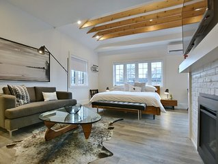 102, Deluxe Studio - Downtown Collingwood, Luxury Boutique Hotel.