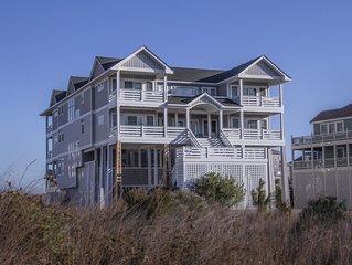 Massive Oceanfront, Luxury, 8 bedroom suites, Pools, Hot Tubs, Theater, Elevator