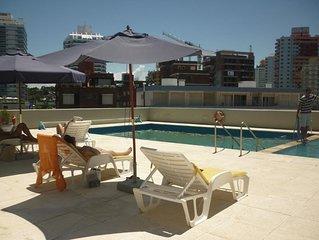 Departamento en Playa Brava Parada 2 hasta 4 Personas Piso alto