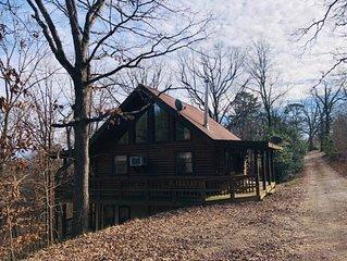 The Loft at Bear Mountain Log Cabins