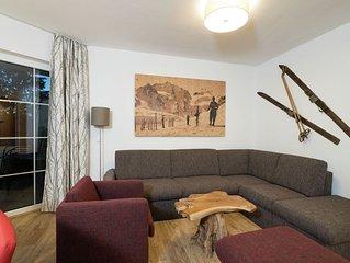 Luxury ski-in-ski-out apartment, next to the ski slope in Alpendorf