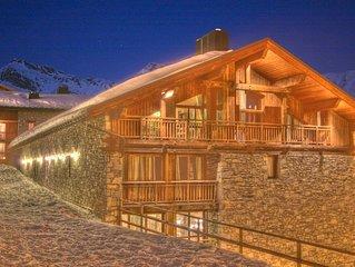 Big apartment in the French-Italian ski resort San Bernardo