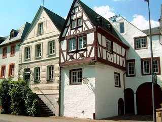 Beautifully restored and renovated house in the most beautiful town on the Mosel